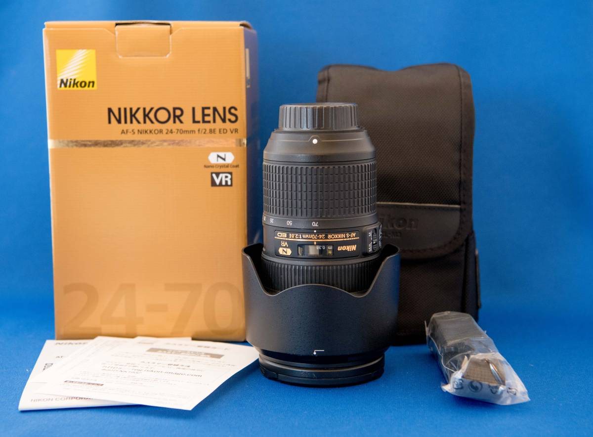ニコン FX用 大口径標準ズームレンズ AF-S NIKKOR 24-70mm f/2.8E ED VR