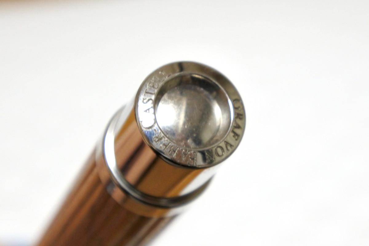 グラフフォンファーバーカステル 万年筆 リミテッドエディション 創立240周年記念 オリーブ M 限定品_画像9