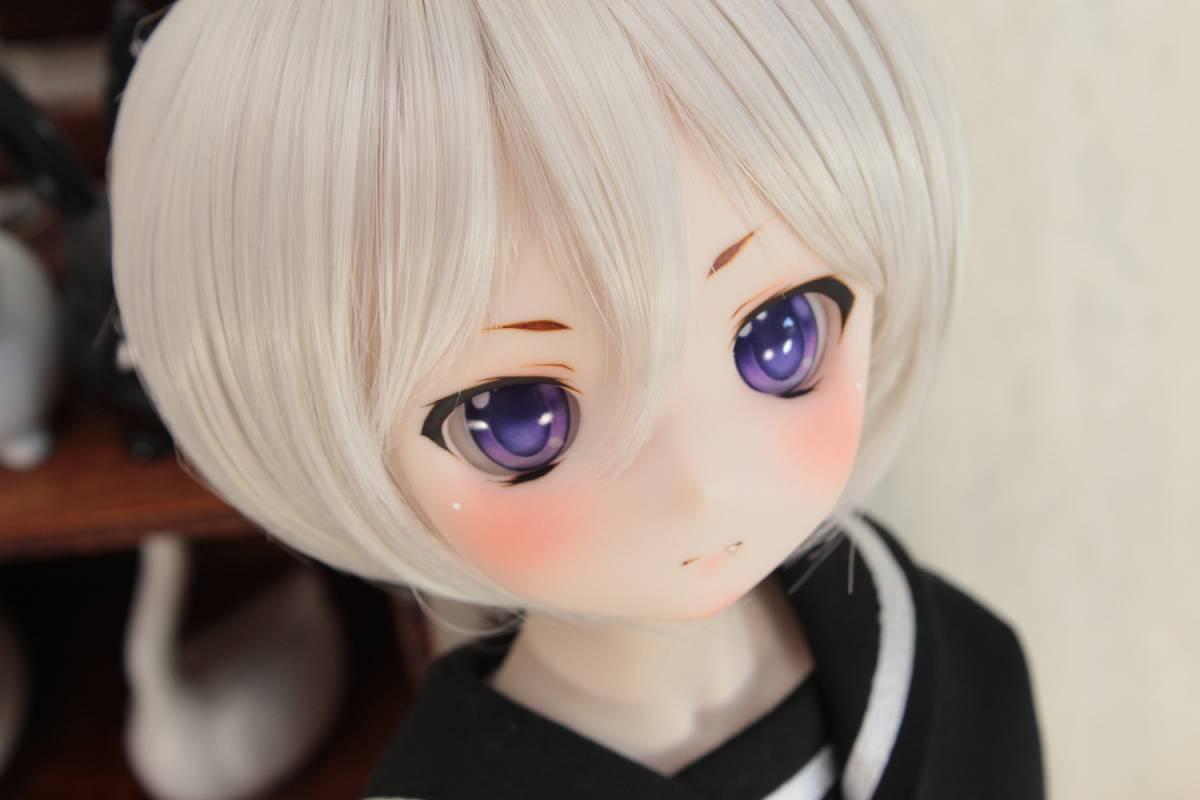 DDH-01 セミホワイト肌 カスタムヘッド+アイ*狐花*_画像5