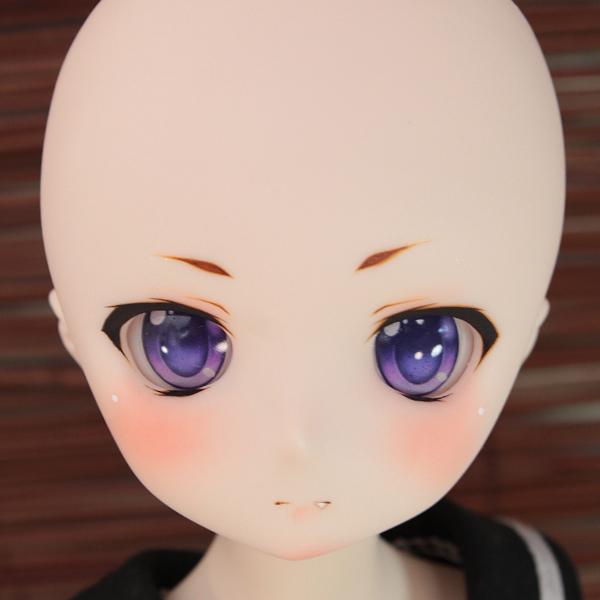 DDH-01 セミホワイト肌 カスタムヘッド+アイ*狐花*_画像7