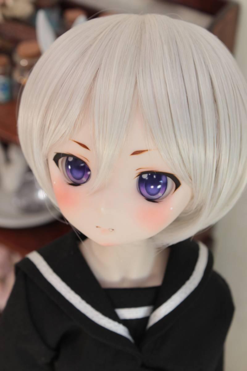 DDH-01 セミホワイト肌 カスタムヘッド+アイ*狐花*_画像3