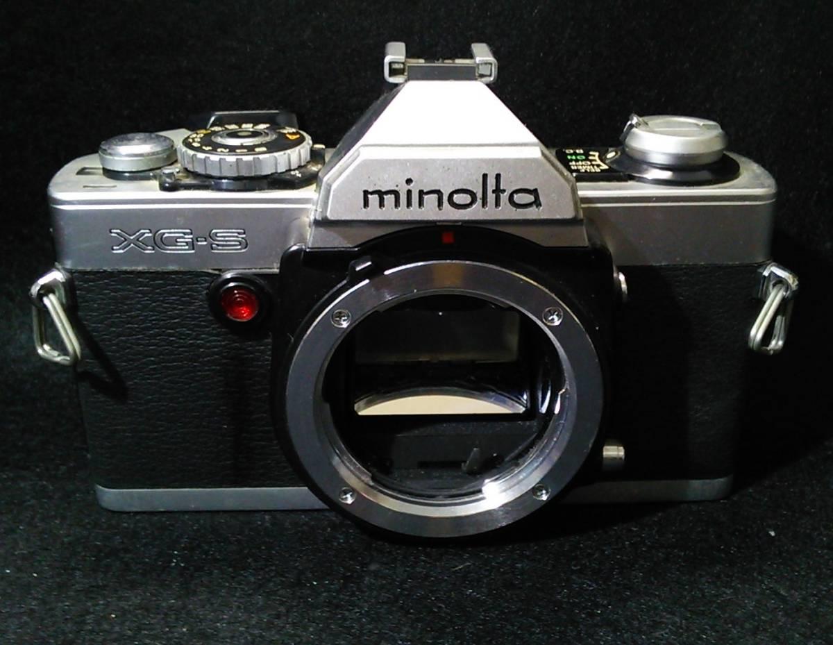 minolta ミノルタ XG-S
