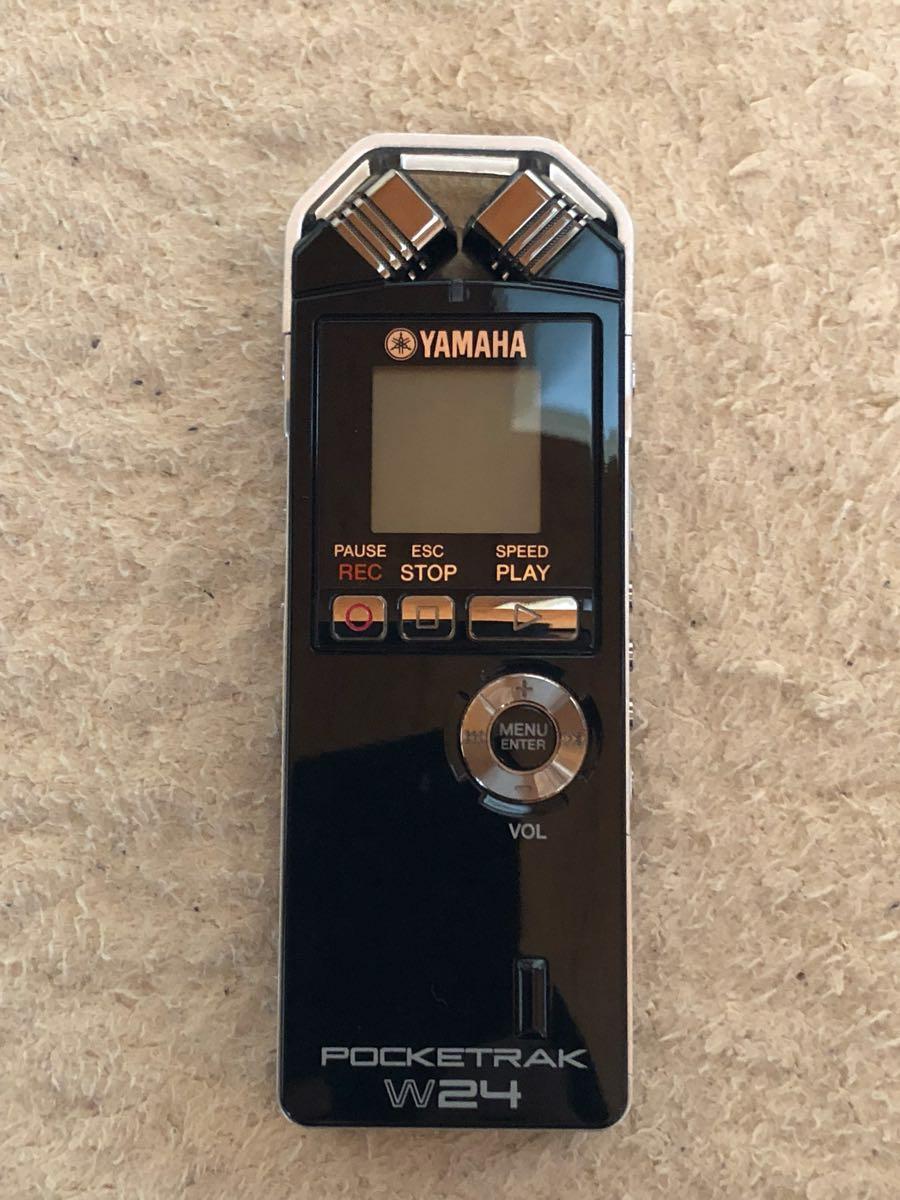 ヤマハ ポケットレコーダー Pocketrak W24