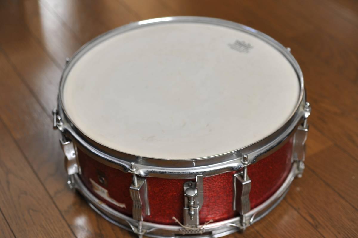 【ヴィンテージ】珍品・レアモノ Ludwig スネアドラム 1960年代製ラディック シカゴ