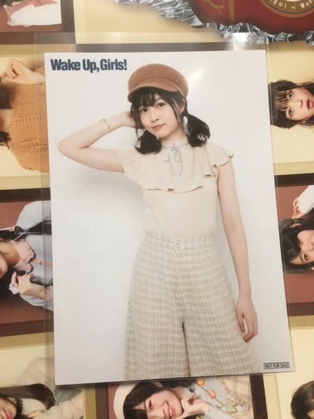 Wake Up Girls ブロマイド 吉岡茉祐 まゆしぃ バレンタインライブ 2018 CD予約特典 WUG わぐりす