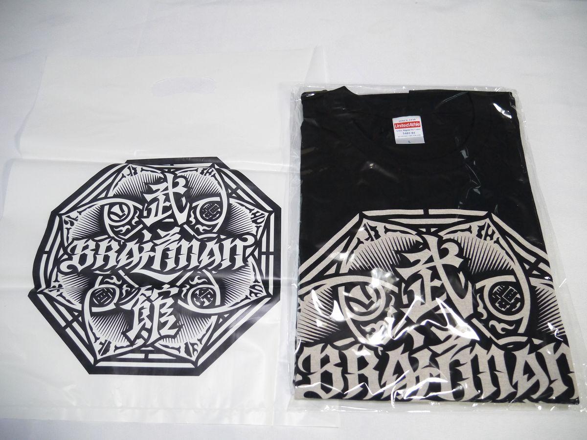 BRAHMAN 武道館 ブラフマン Tシャツ 黒(L)