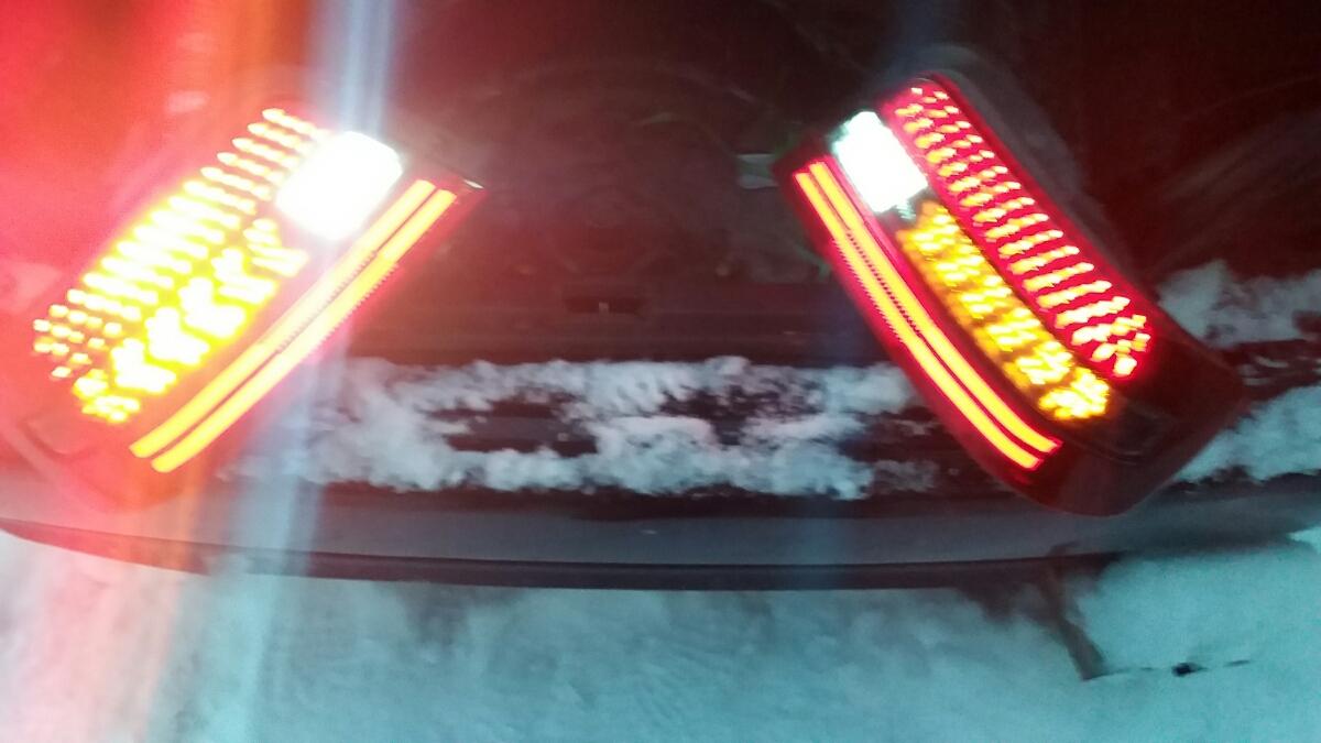 JZX100 チェイサー LEDテールライト ワンオフ フルLED