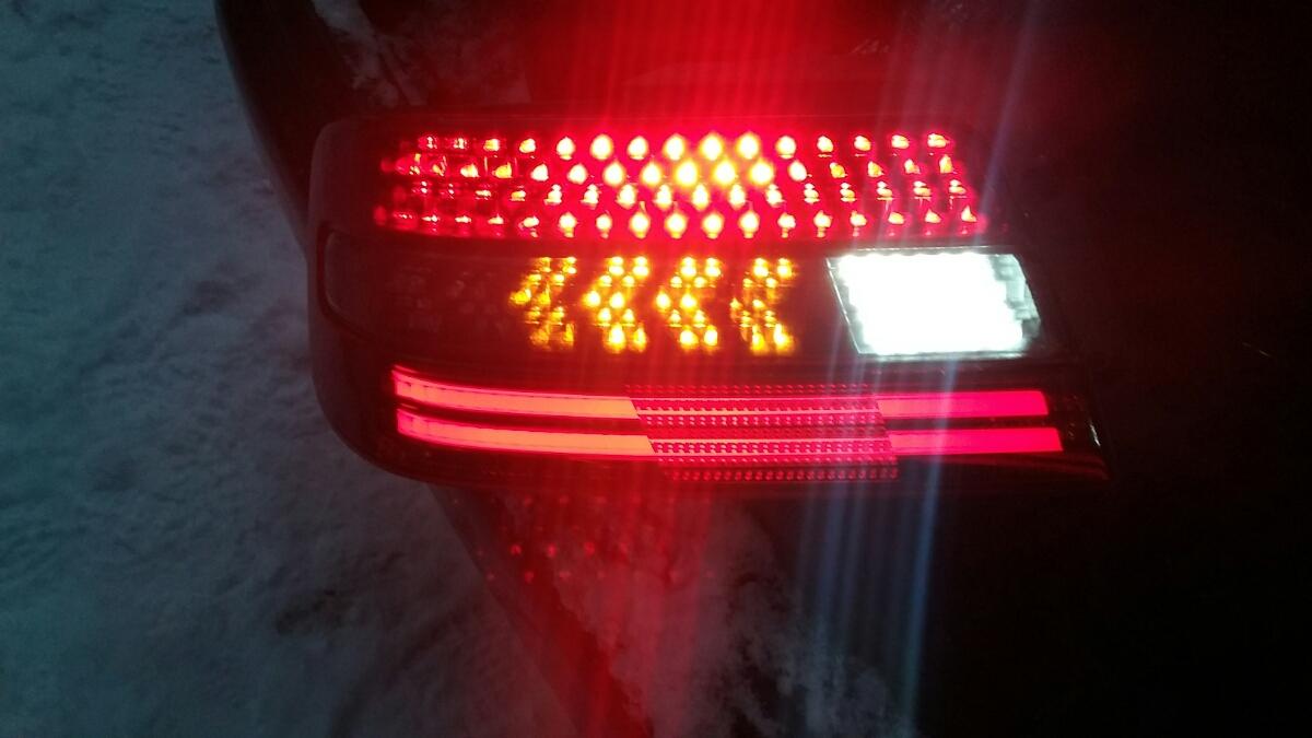JZX100 チェイサー LEDテールライト ワンオフ フルLED _画像4