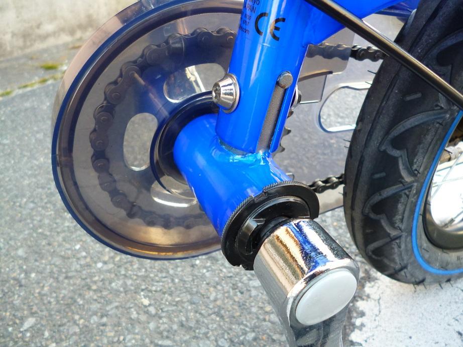 わずか30分で自転車デビュー!と話題の自転車 ♪ 12インチ へんしんバイク バランスバイク+ペダル一式 1本スタンド付き ブルー ♪_画像8