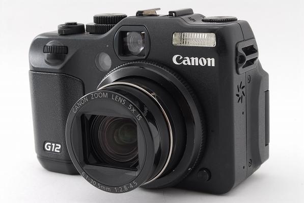 Canonデジタルカメラ◆キャノン パワーショットPowerShot G12 液晶不良
