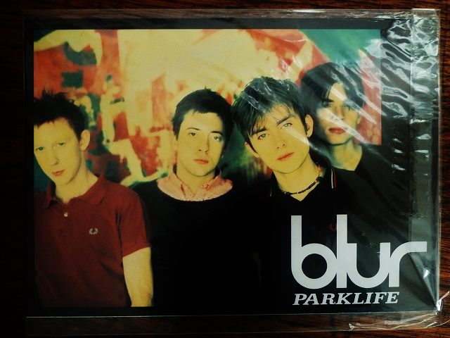 ☆BLUR☆ UK BRIT ROCK 非売品 ポストカード レア ブラー デーモン・アルバーン Gorillas