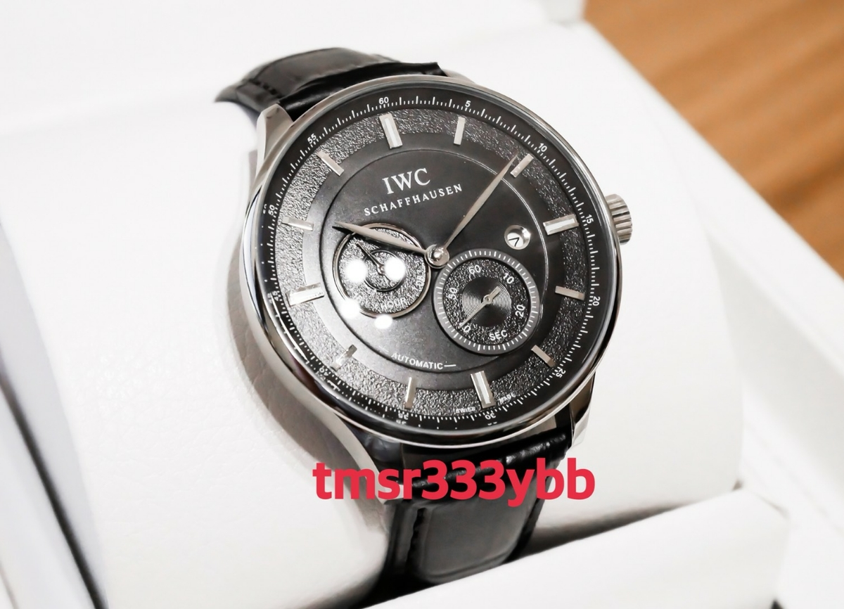 IWC インター ポルトギーゼ インヂュニア ポートフィノ アクアタイマー 腕時計 自動巻き 新品 付属品あり 激レア メンズ