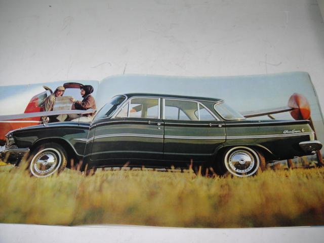 △当時物 旧車カタログ/パンフレット 日産プリンス グロリアスーパー6 昭和38年_画像4