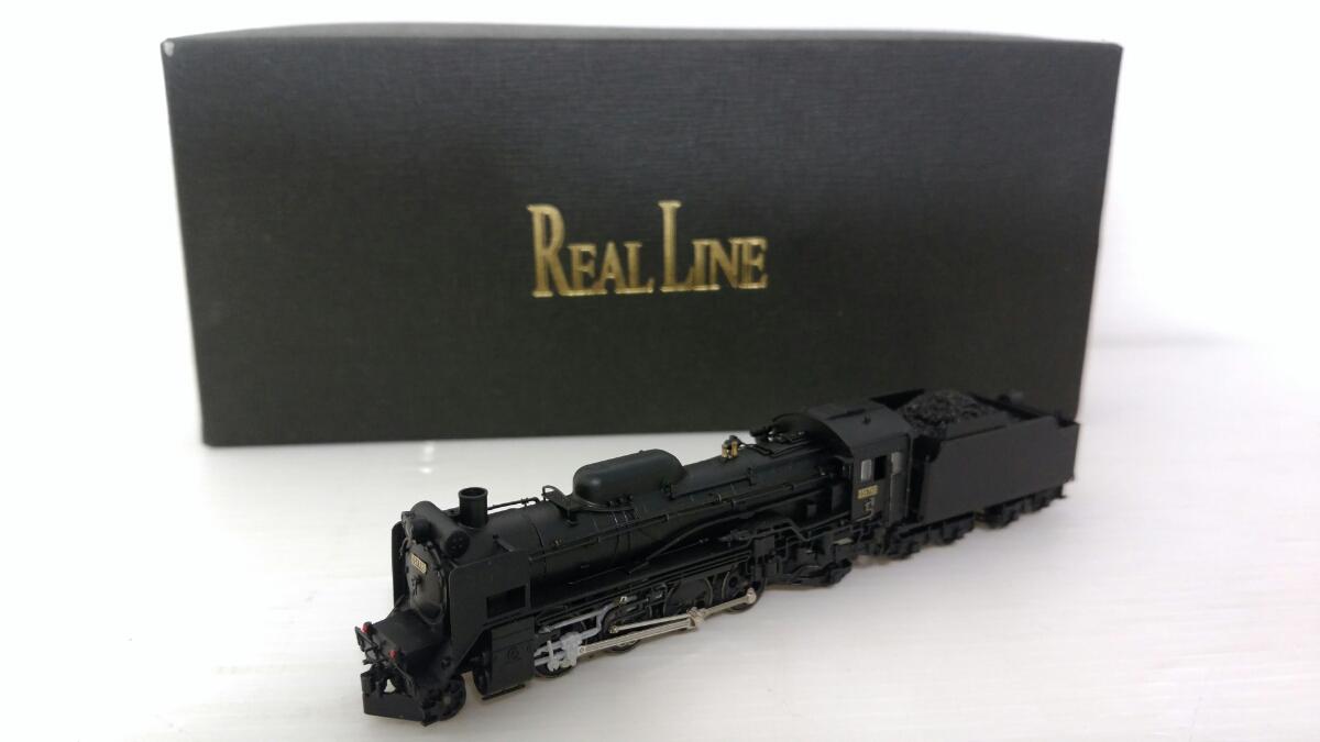 1975 リアルライン 国鉄D51 北海道型 D51710 模型