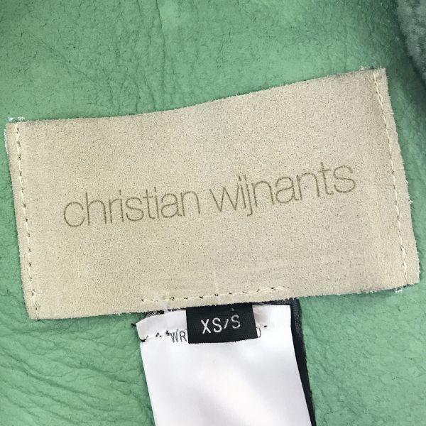 美品☆CHRISTIAN WIJNANTS☆クリスチャンワイナンツ 16AWコレクション ムートンコート オーバーサイズ mc11870_画像7