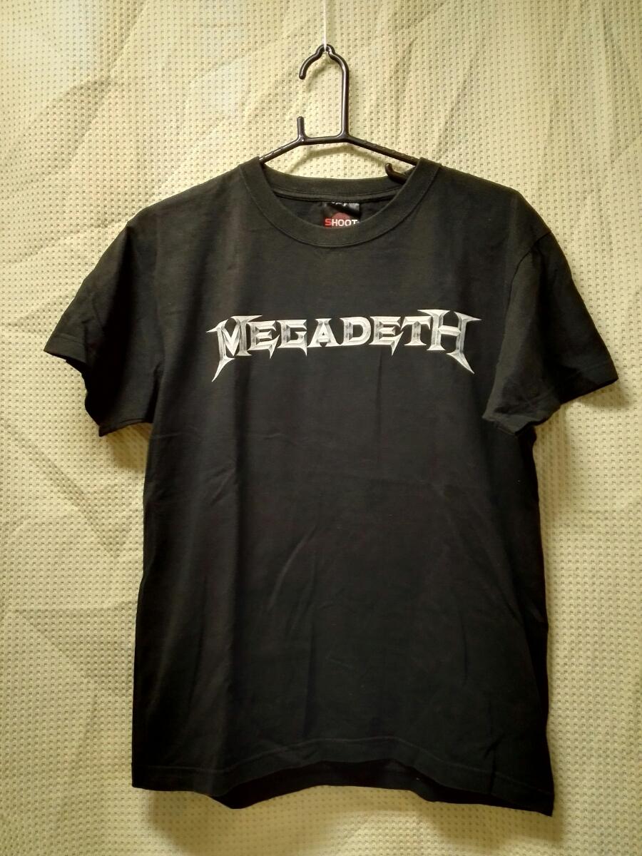 002 バンドTシャツ メガデス ユナイテッドアボミネイションズツアーオブデュティ2007
