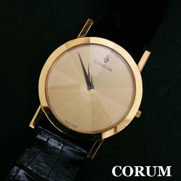 コムル オリンポス K18 腕時計