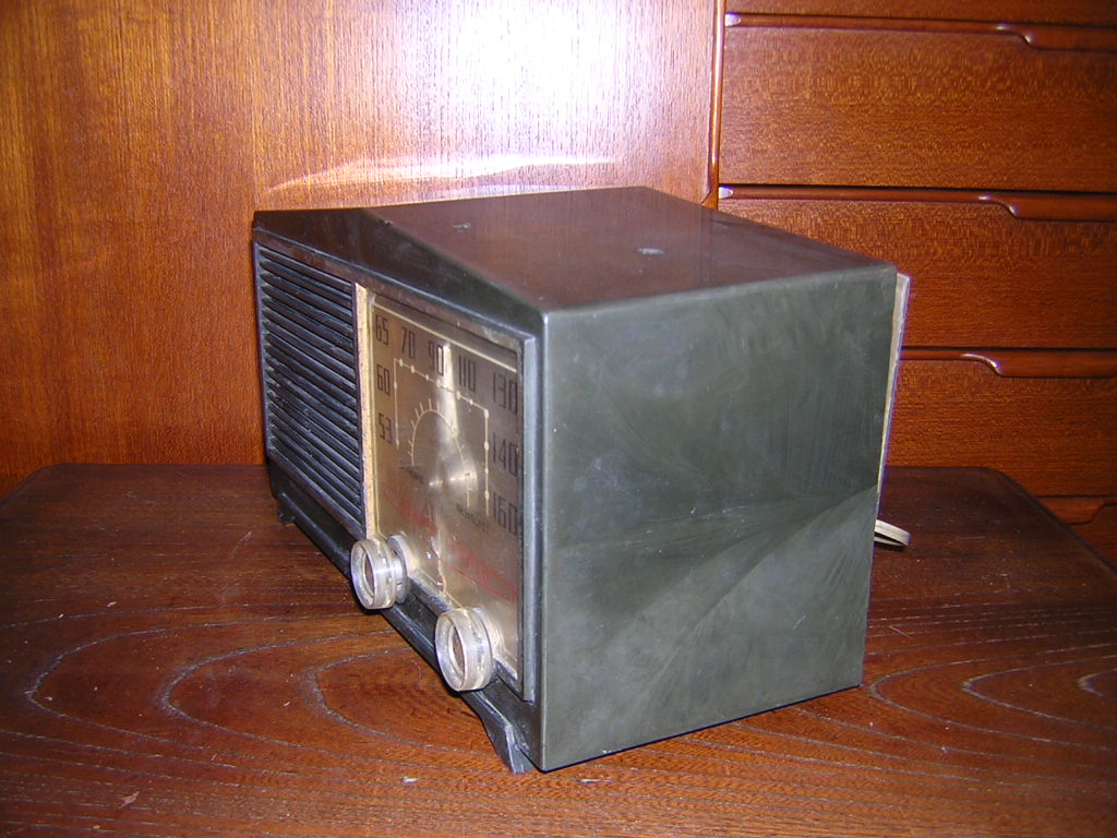 サンヨー 真空管ラジオ SS-58 箱付き 現状ジャンク品扱い レトロ _画像6