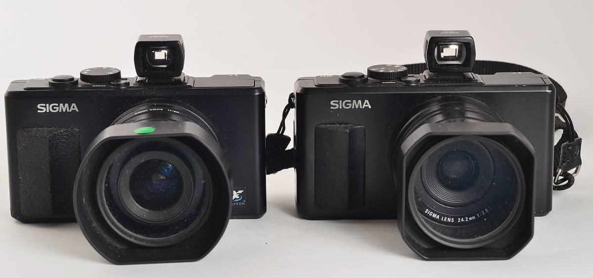 シグマDP1s+DP2s 付属品多数ジャンク2台セット