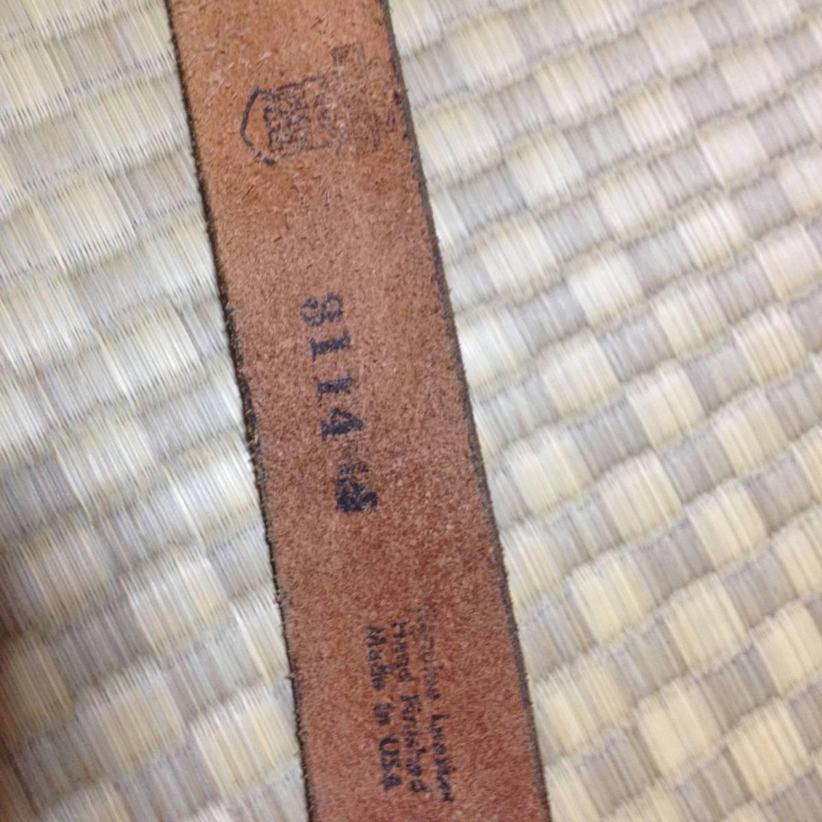 ハーレーダビッドソン ヴィンテージ ベルト made in USA_画像6