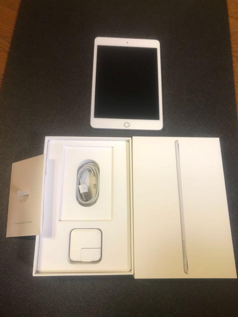 美品 iPad mini4 wi-fi&cellular 128GB docomo_画像3