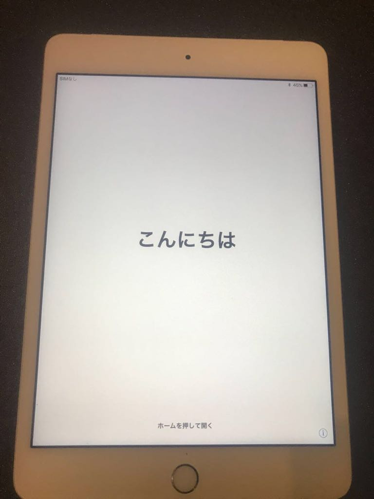 美品 iPad mini4 wi-fi&cellular 128GB docomo_画像6