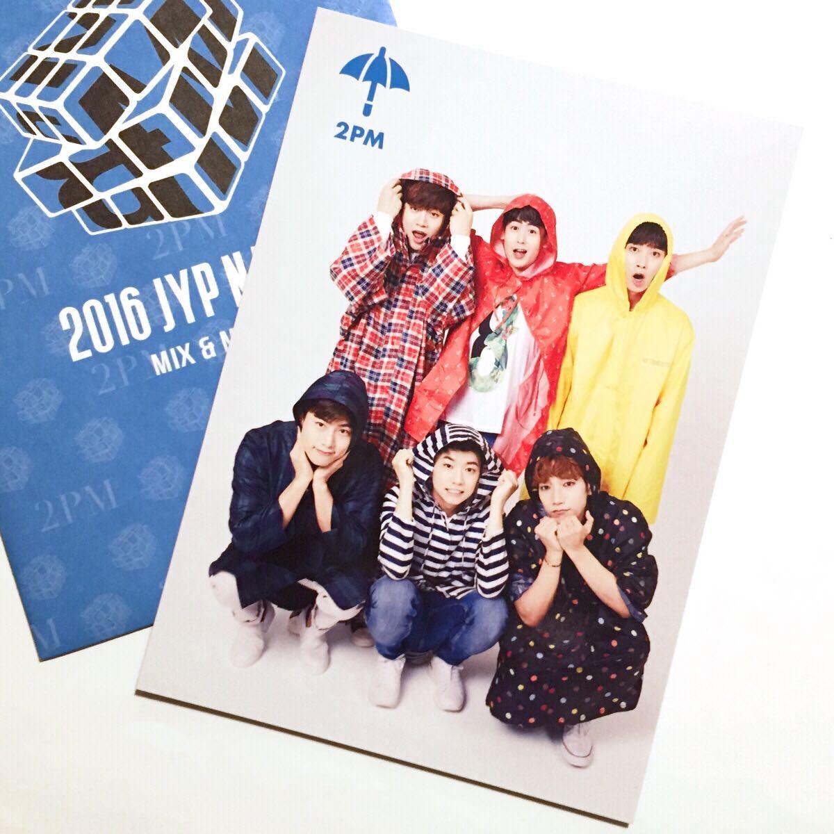 2PM★ JYP Nation 2016 MIX & MATCHトレカ★全員ver.