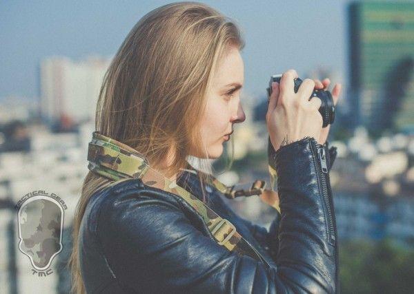 TMC社製の正規品E9 G1 カメラ スリング ストラップ【Multicam 】_画像10