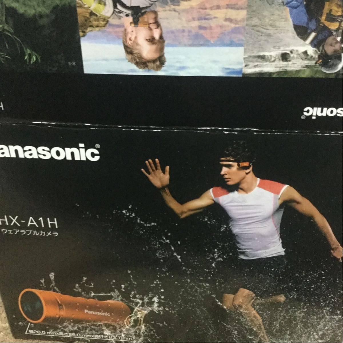 パナソニック Panasonic HX-A1H ウェアラブルカメラ ブラック 美品 アクションカメラ