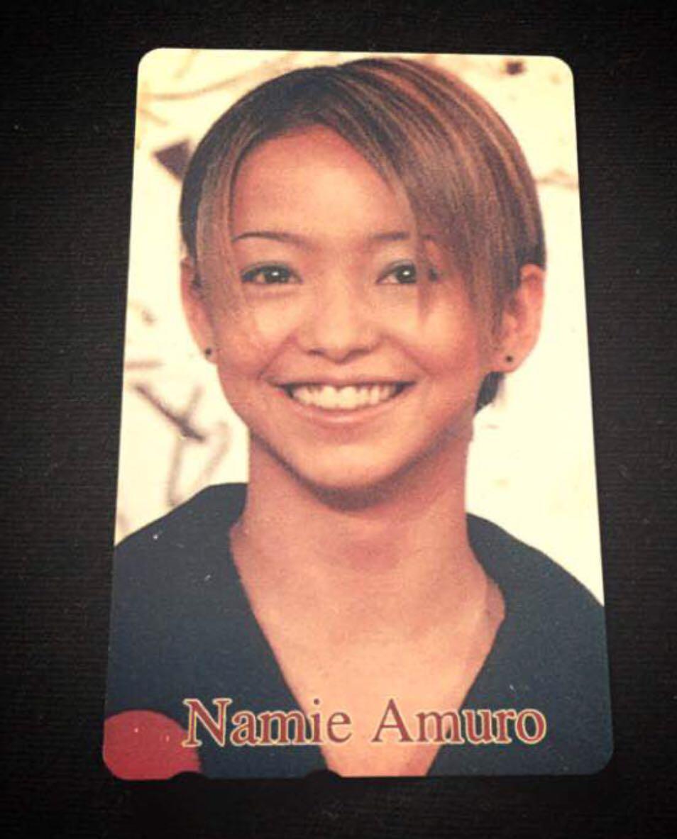 安室奈美恵 テレカ 50度数 未使用 安室ちゃん namie amuro レア 新品未使用 ショートヘア