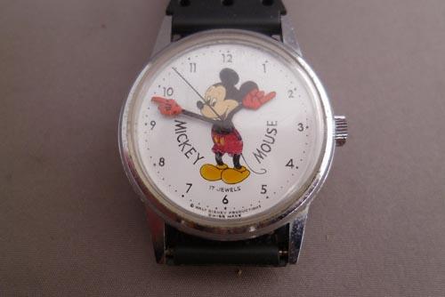 ●ディズニーランド限定◎WINDERT1960年製●ビンテージミッキー腕時計●極美品!スイス製