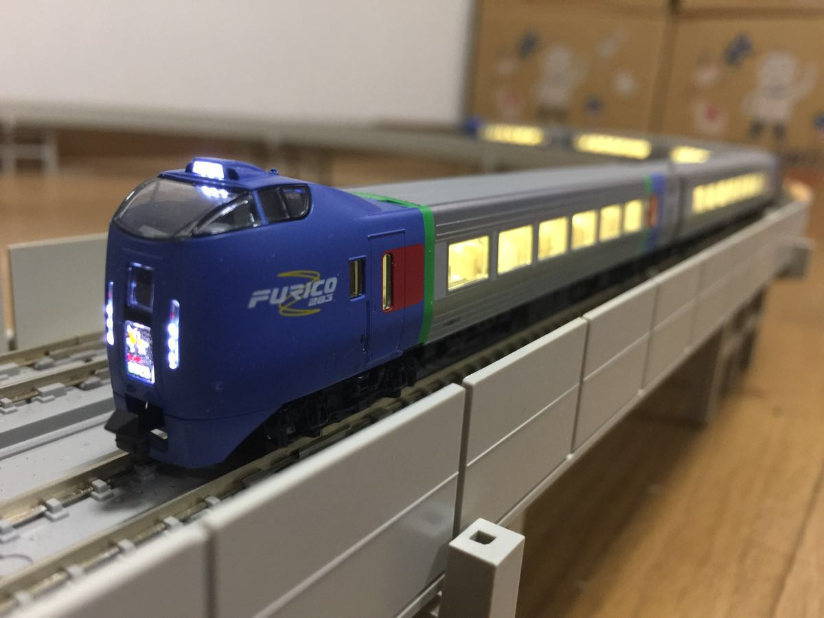 【美品】N-GAUGE 全車両高輝度LED化 KATO キハ283系「スーパーおおぞら」6両基本セット 10-476