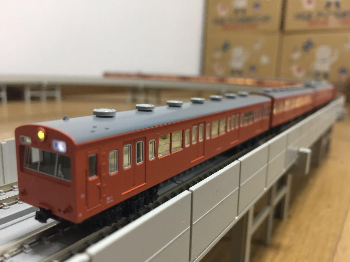 【美品】N-GAUGE 全車両高輝度LED化 KATO 10-253 レジェンドコレクション 101系 中央線快速