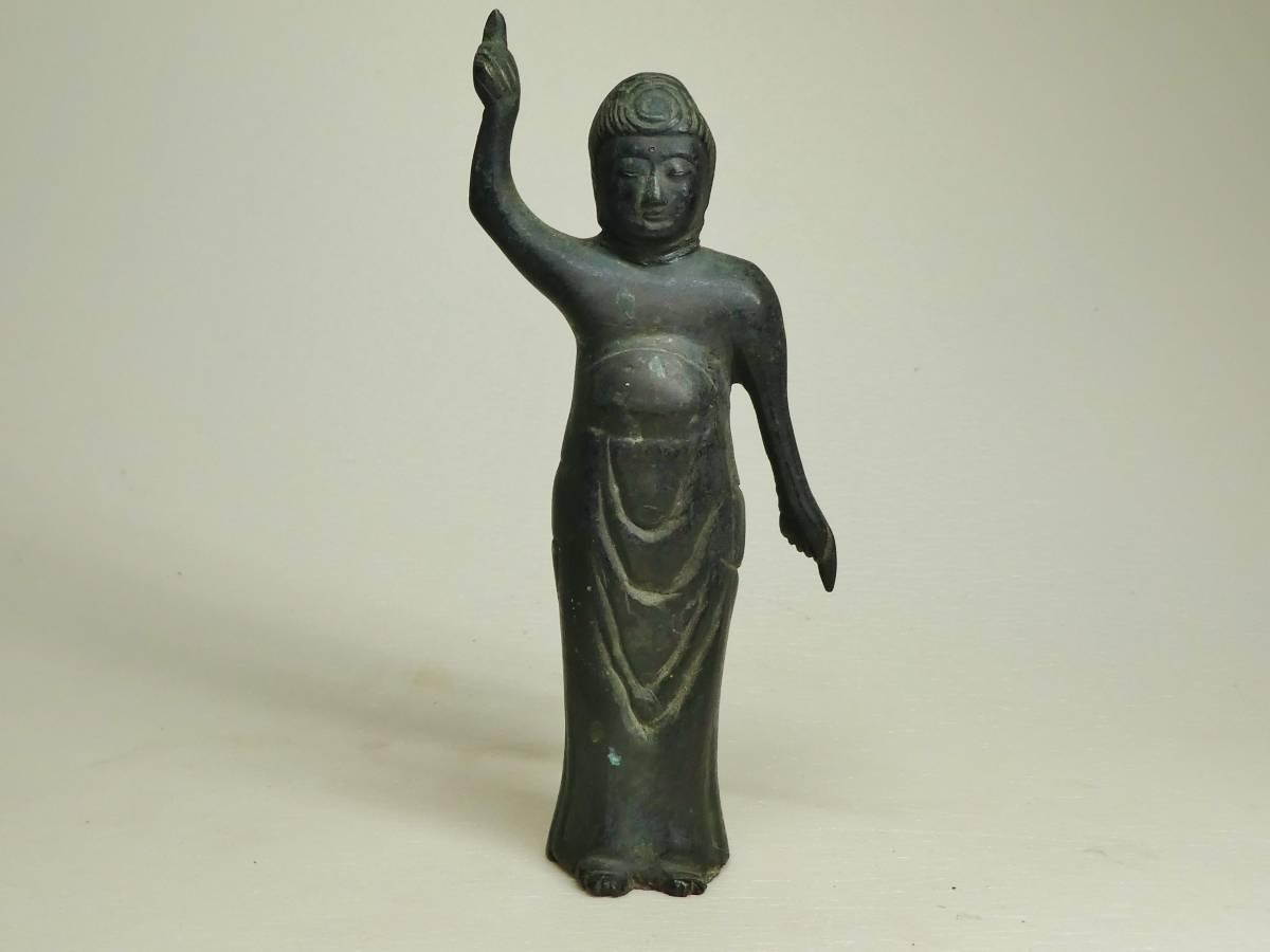 銅造誕生仏(江戸時代)