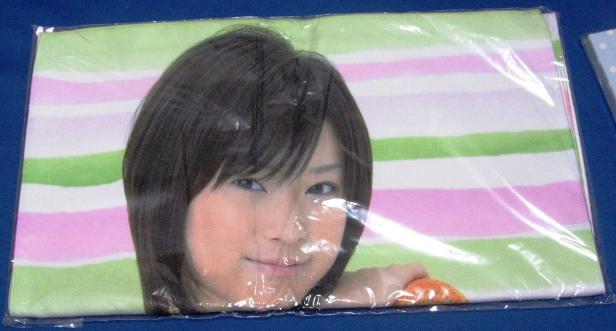 モーニング娘。亀井絵里マイクロファイバータオル未開封品 写真58枚 サイン入りも有りSWEET VALENTINE 2007