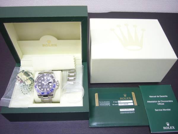 ロレックス Rolex GMTマスターⅡ 116710BLNR 国内正規品 美品