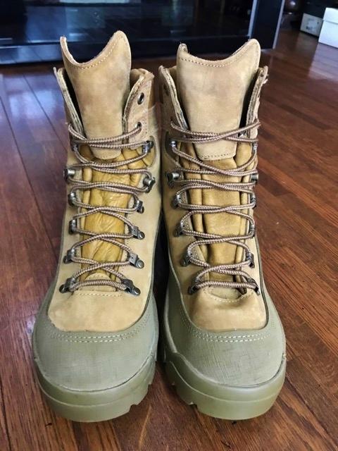 新品 実物 ベルビル BELLEVILLE ブーツ ゴアテックス goretex メンズ USA製 アメリカ製 アウトドア 登山 キャンプ サバゲー 用 米軍納入_画像3