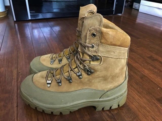 新品 実物 ベルビル BELLEVILLE ブーツ ゴアテックス goretex メンズ USA製 アメリカ製 アウトドア 登山 キャンプ サバゲー 用 米軍納入_画像2