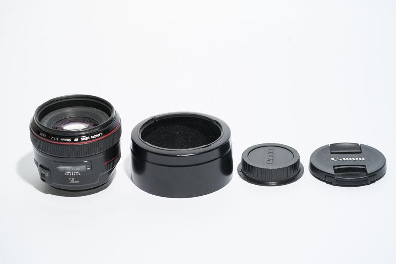 キヤノン用 Canon EFマウントEF50mm F1.2L USM