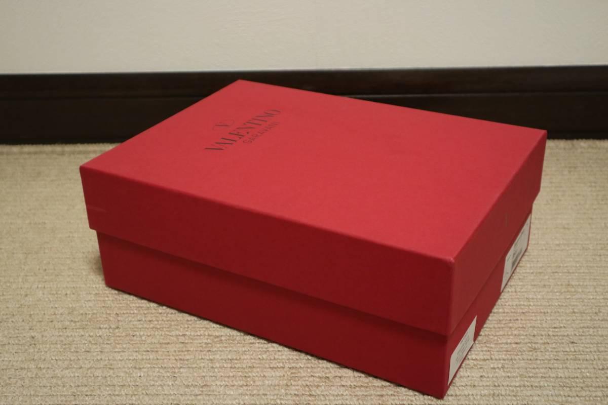 正規 VALENTINO ヴァレンティノ◆シューズ 靴 空箱 他ブランド箱 紙袋 保存袋 単品多数出品 同梱包可