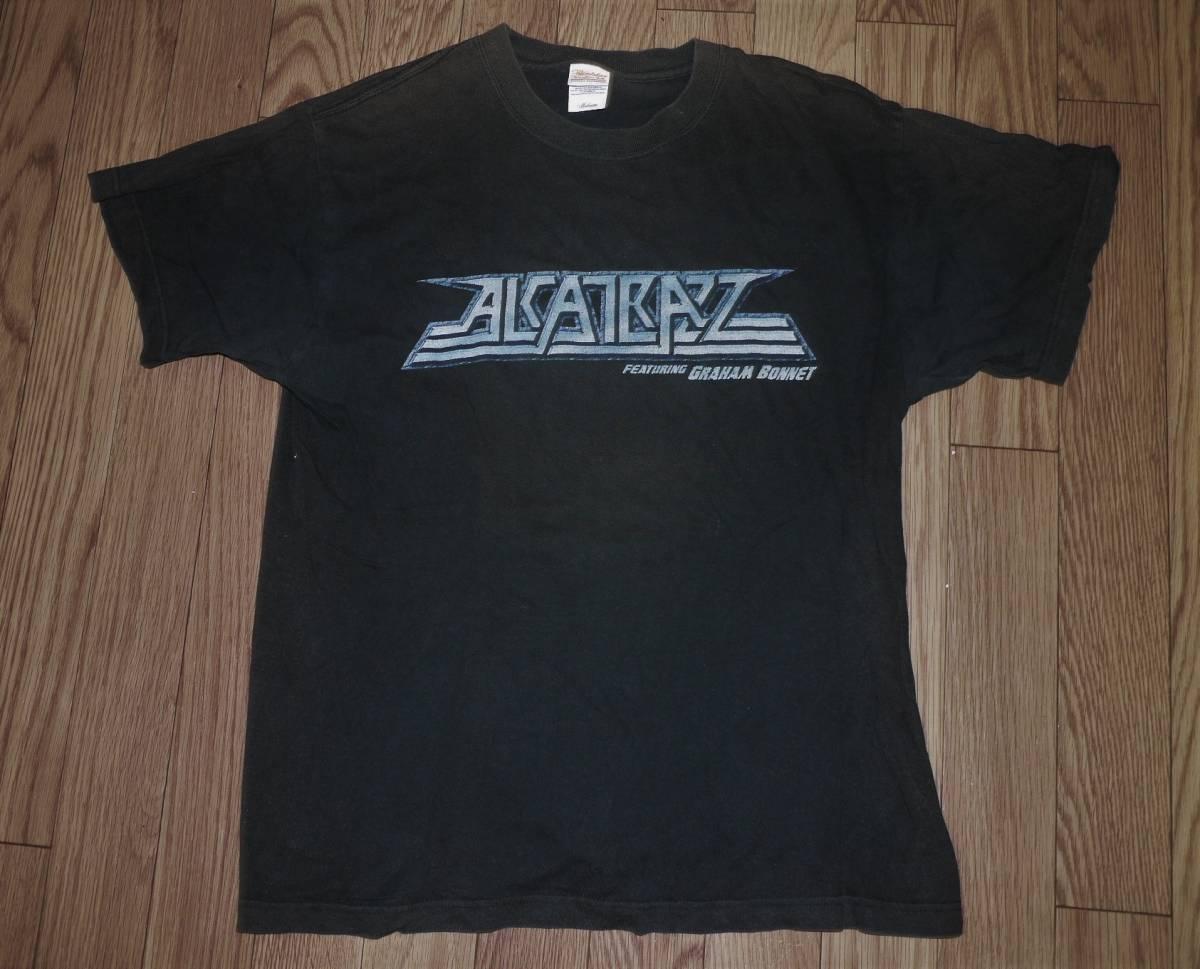 グラハムボネットALCATRAZZオフィシャルTシャツ!RAINBOWマイケルシェンカーMSG