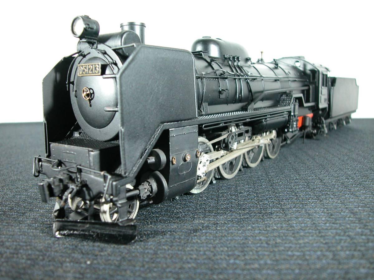 1/42蒸気機関車D51金属製精密模型