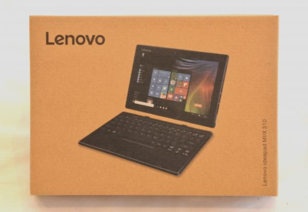 美品★Lenovo 2in1 タブレット ideaPad Miix 310 80SG00APJP/Windows 10/Office Mobile搭載/4GB/64GB/10.1インチ(2016年モデル)