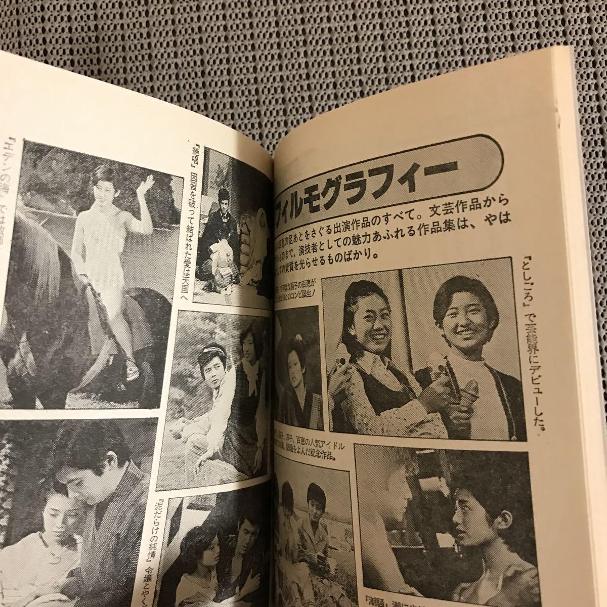 MOMOE 山口百恵・20歳の手帳 近代映画附録/昭和54年5月号 状態良好です_画像10