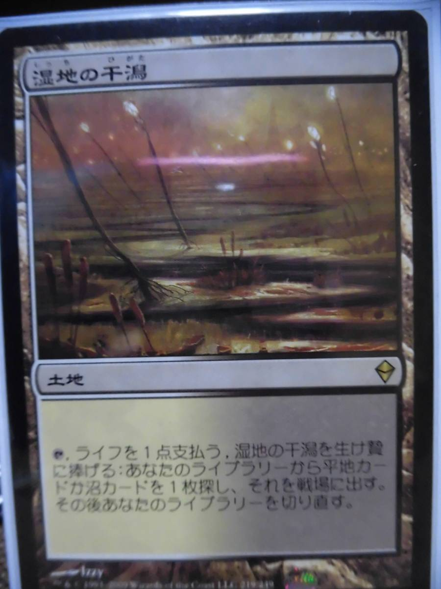 mtg 湿地の干潟/Marsh Flats 日本語1枚 送料無料