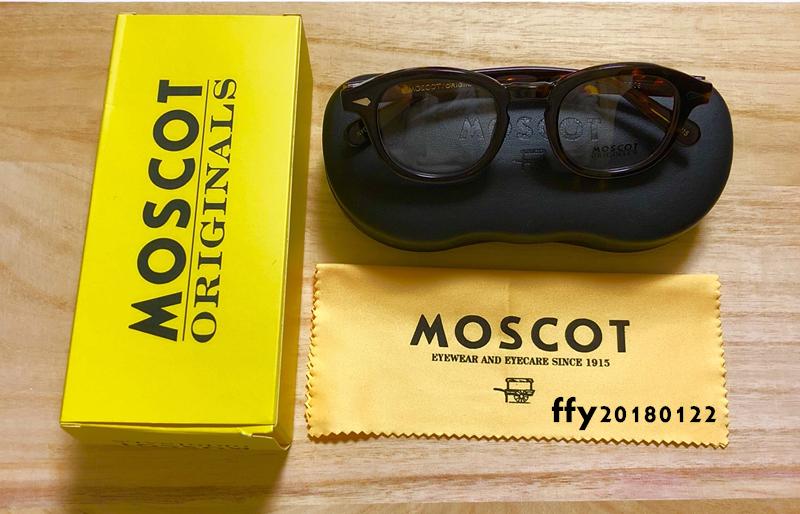 ★MOSCOT★ モスコット セルフレーム**鼈甲 カラー