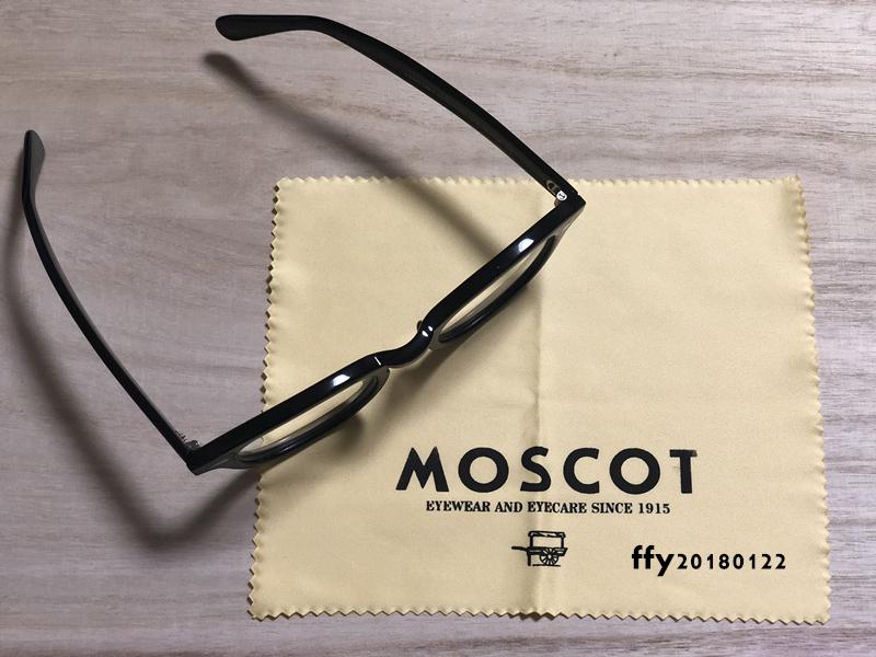 ★MOSCOT★ モスコット セルフレーム***黒_画像2