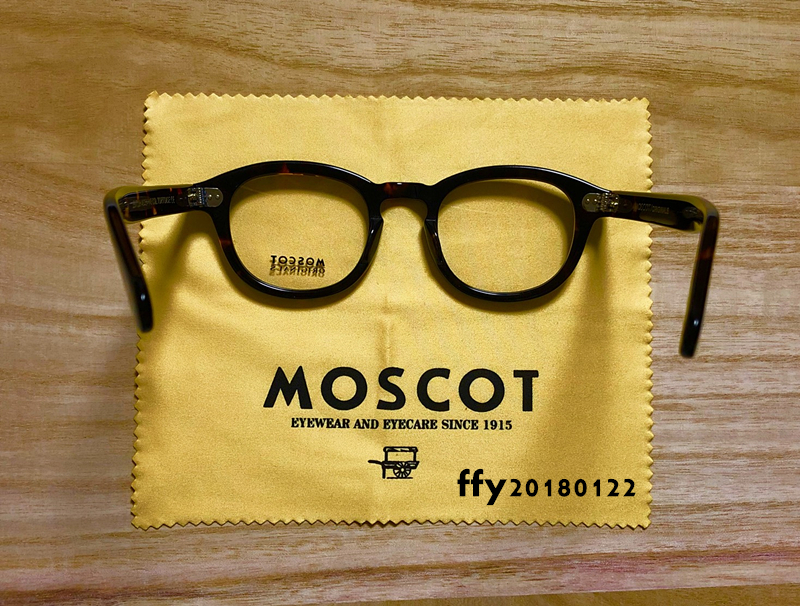 ★MOSCOT★ モスコット セルフレーム**鼈甲 カラー_画像8
