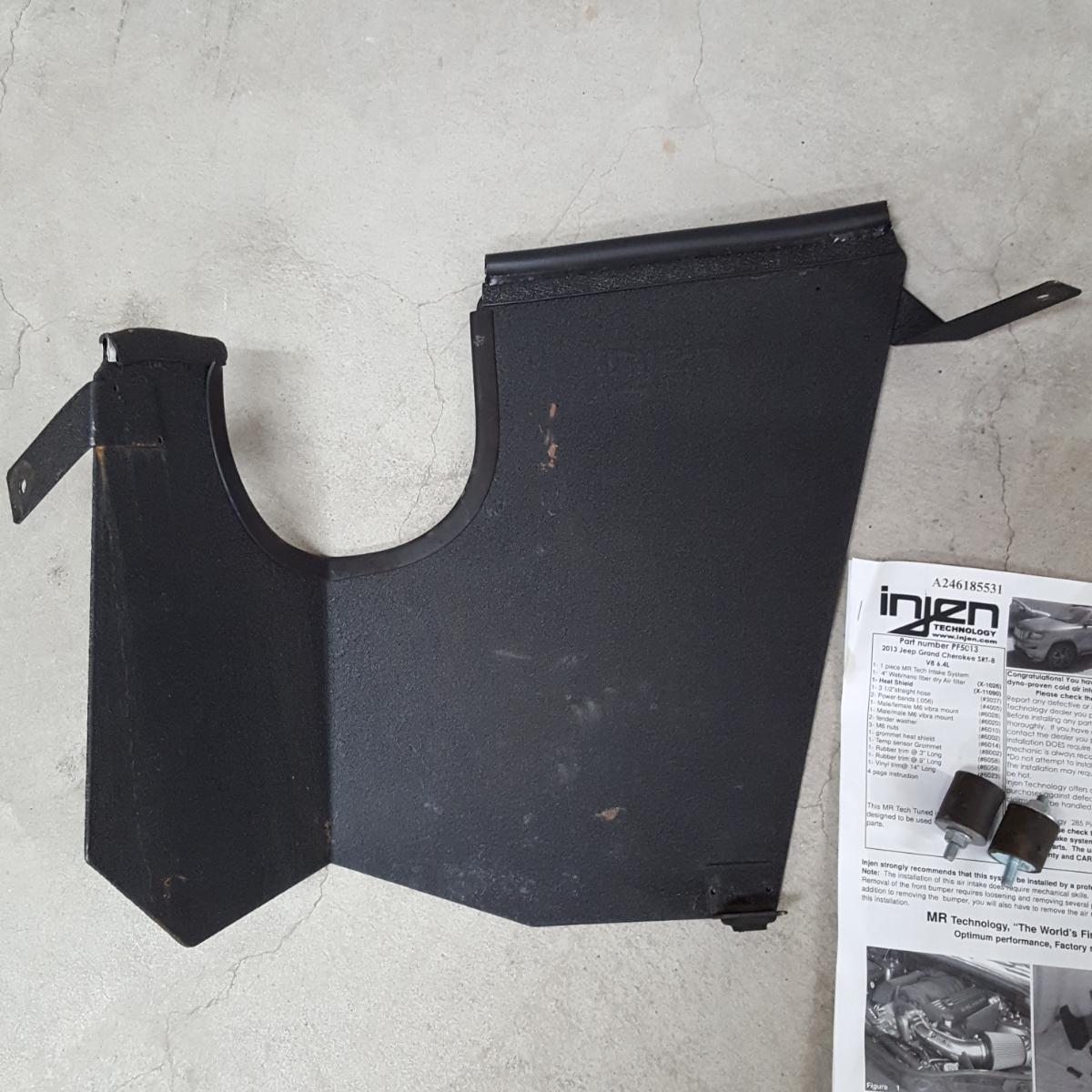【Injen】インジェン エアーインテークシステム グランドチェロキー SRT8 WK57A 美品 売り切り!_画像2