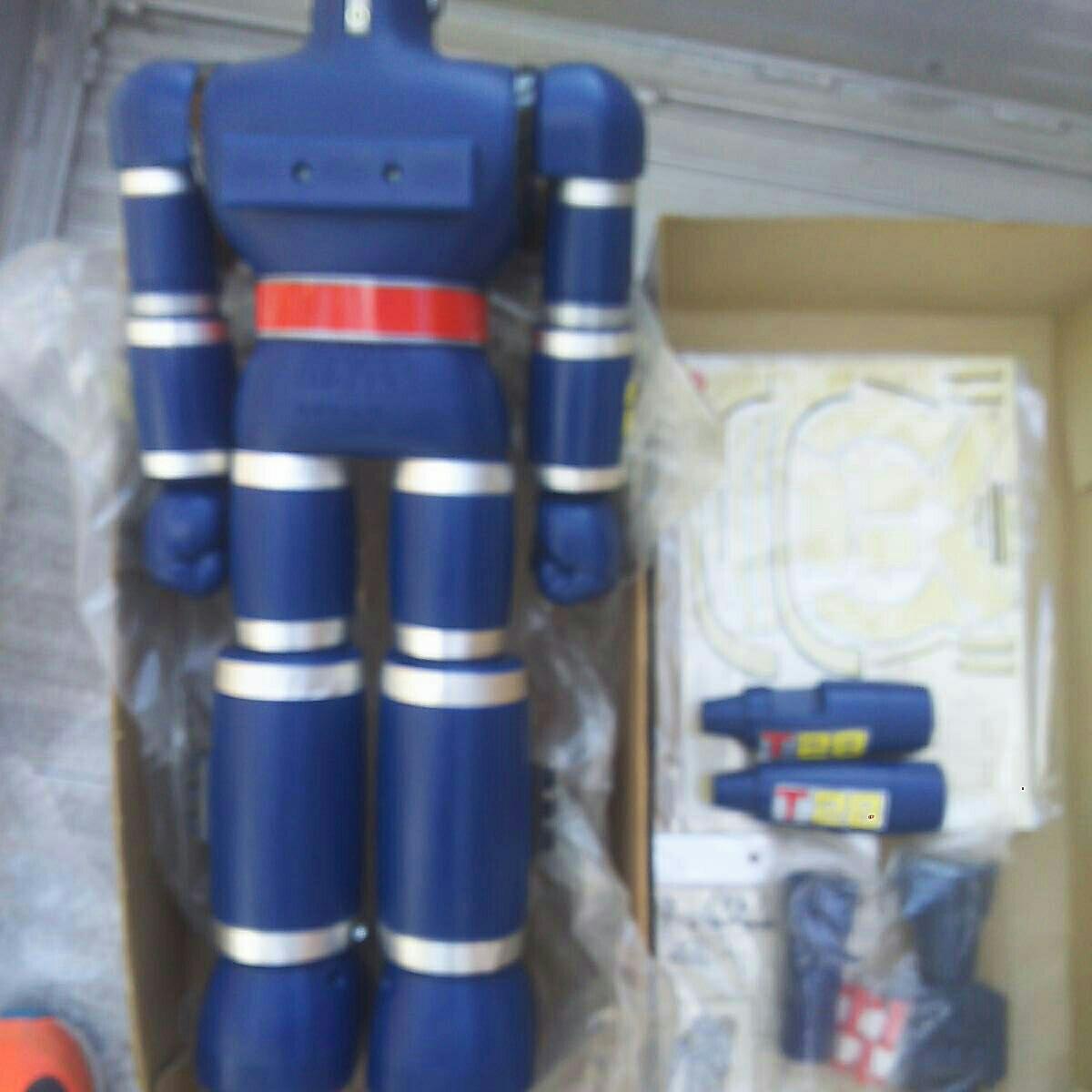 ポピー ジャンボマシンダー 鉄人28号 美品 箱 付属品 _画像8